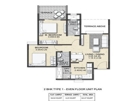 2bhk floor plan amit astonia classic residential apartment in undri