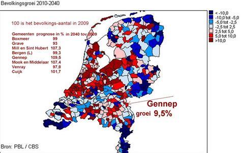 wandle länglich demografische ontwikkelingen nederland