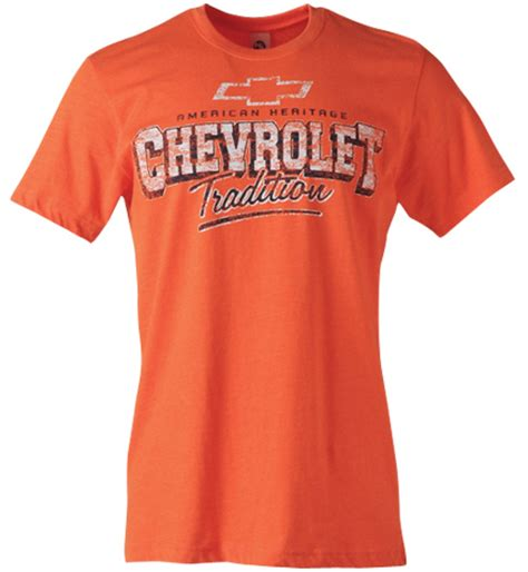 chevrolet american tradition t shirt size small only