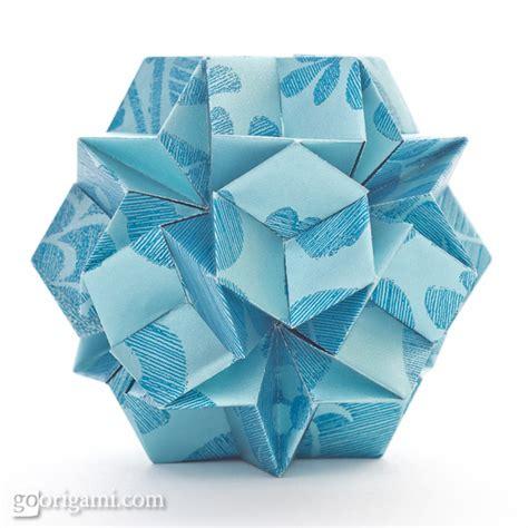 Modular Origami Kusudama - kusudama origami gallery go origami