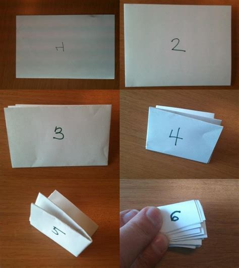 How To Fold A Of Paper Into An Envelope - how many times can you fold a of paper in half