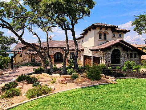 mediterranean custom homes lake travis waterfront mediterranean zbranek and holt custom homes