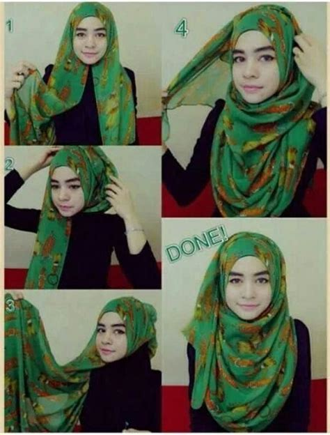 tutorial hijab pashmina ima scarf simple hijab shawl tutorial hijab style pinterest hijabs