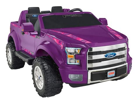 power wheels amazon com fisher price power wheels ford f 150 purple