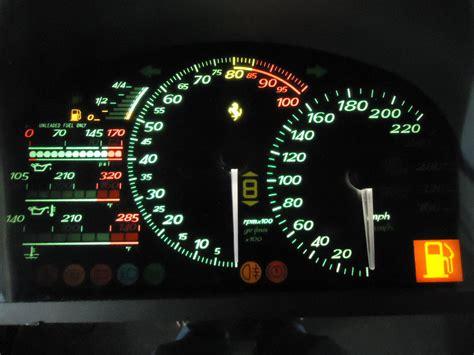 ferrari speedometer ferrari f50 dash instrument cluster repair circuit boards