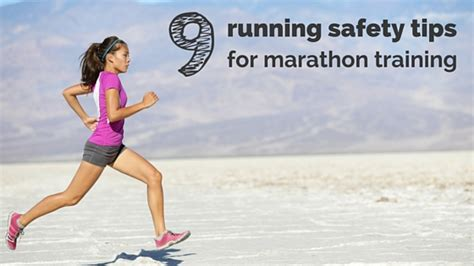 9 tips for running with 9 running safety tips for marathon by runladylike sabre