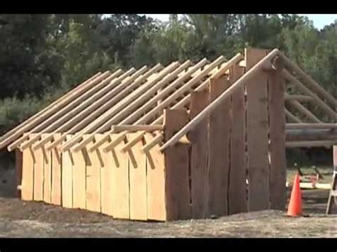 plank house building a american plank house
