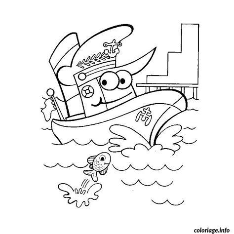 dessin facile bateau mouche coloriage bateau police dessin