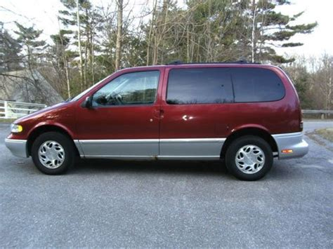 automobile air conditioning service 1998 mercury villager user handbook purchase used 1998 mercury villager minivan in nashua new hshire united states