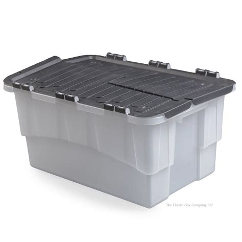 bathroom storage boxes with lids buy 25lt croc plastic storage box with flip lid