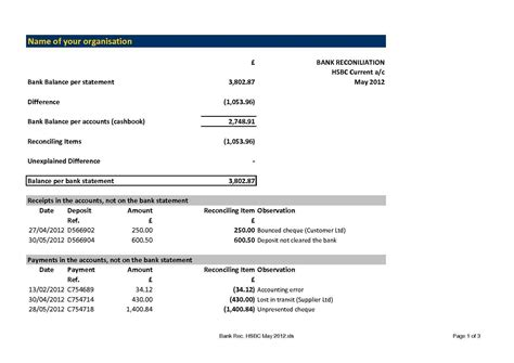 editable income statement template excel