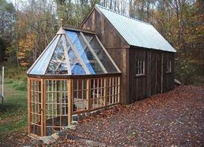 shed with attached greenhouse new mexico design and