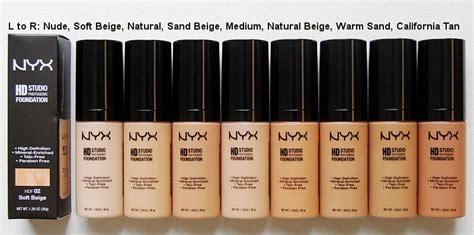 Foundatin Nyx nyx hd studio photogenic foundation reviews photos