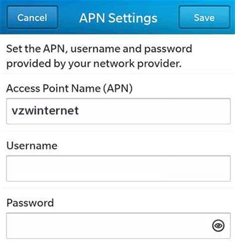 family mobile apn settings for android verizon apn settings for blackberry 10 4g lte apn usa