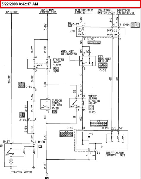 mitsubishi eclipse wiring diagram 2000 2006 eclipse wiring diagrams club3g forum