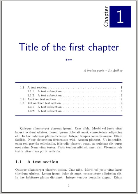 book layout chapter headings sectioning how to obtain this fancy chapter page with
