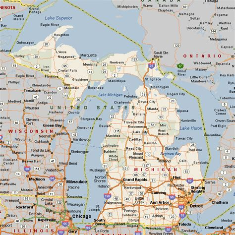 Michigan The 26th State by Pointless Database Michigan