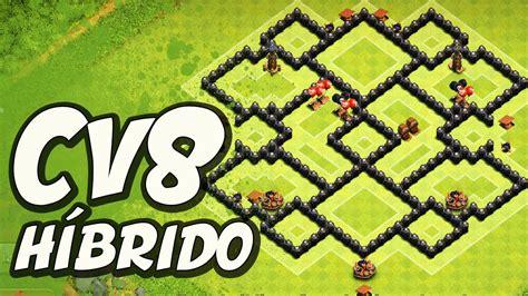 layout hibrido cv 8 2016 layout h 205 brido replay de defesa para cv8 clash of