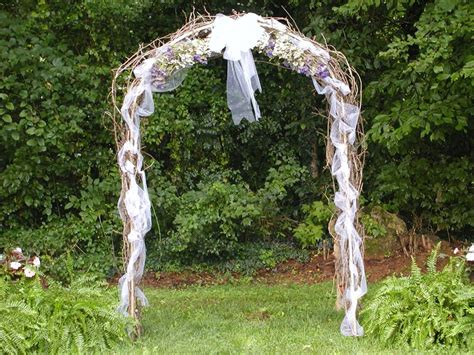 Wedding Arbor With Tulle by Heja Get Arbor Decorating Ideas
