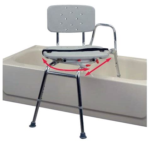 sliding transfer bench with swivel seat snap n save plastic sliding transfer bench with swivel seat