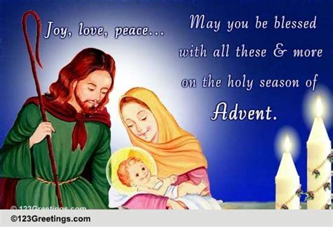 the holy season of advent holy season free advent ecards greeting cards 123