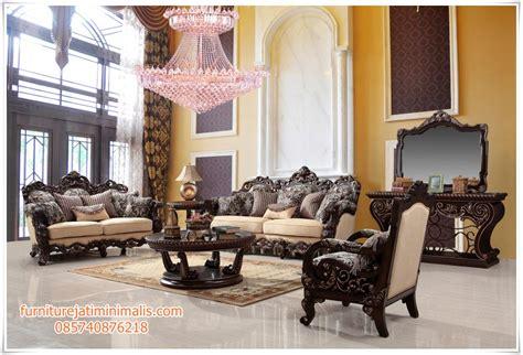 Kursi Tamu Mewah Jati Jepara kursi sofa jati mewah modern kursi sofa jati kursi sofa