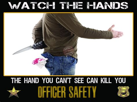 Officer Safety by The Knife Poster