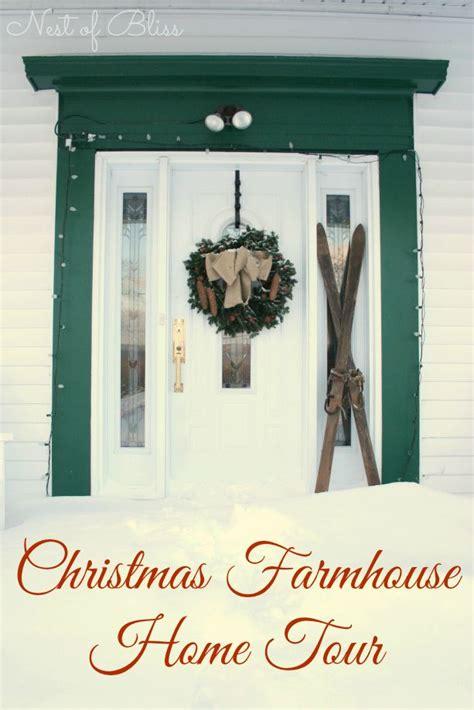 christmas farmhouse   diy home decor ideas pinterest nests decor  christmas