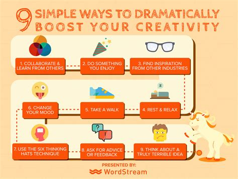 7 ways to boost your creativity 9 ways to dramatically improve your creativity the