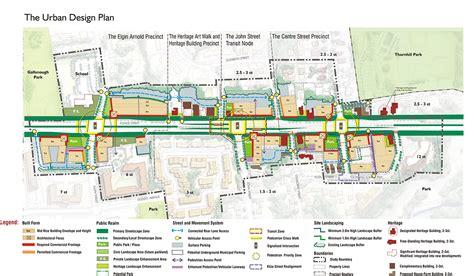design guidelines urban planning thornhill yonge street transit corridor urban strategies