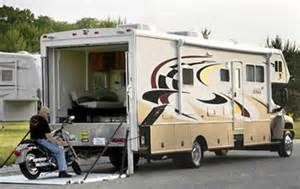 class a motorhomes with garage
