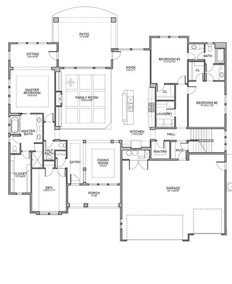 nuburgh floor plan by brighton homes house plans