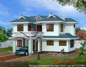 kerala home design 2011 simple 2200 sq ft kerala style villa elevation design