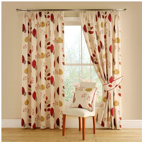 montgomery curtains montgomery cleo terracotta lined pencil pleat curtains