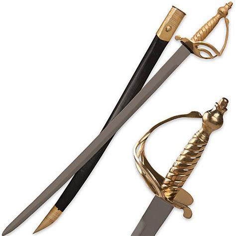 war sword revolutionary war saber sword w scabbard true swords