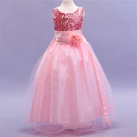 buy nwt wedding party princess long flower girls dresses