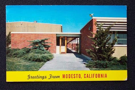 Stanislaus County Index Search 1964 El Vista Elementary School Modesto Ca Stanislaus C Ebay