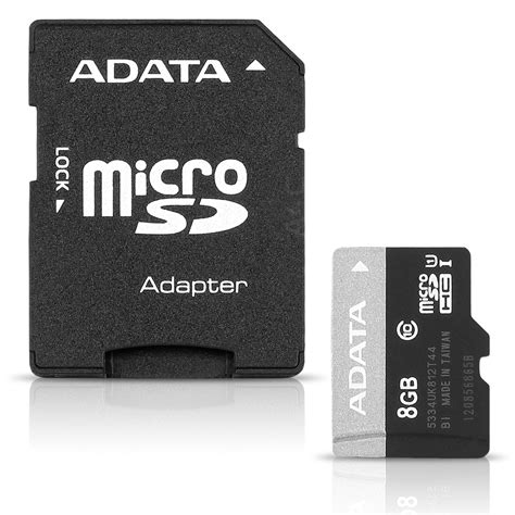 Microsd Adata Premier Class 10 With Adapter 16gb adata premier 8gb microsdhc uhs i memory card sd adapter class 10 a4c