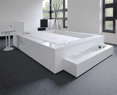 futonbett weiß 120x200 bett somnium mit bettkasten design bett rechteck
