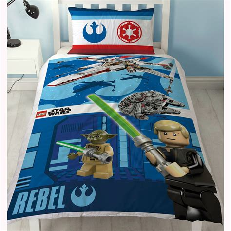 lego star wars reversible duvet cover bedding set new 2