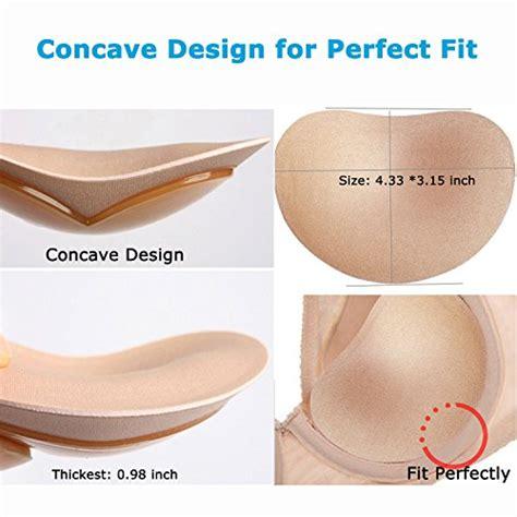 Adhesive Bra Pad elicico silicone adhesive bra pads inserts push up sticky