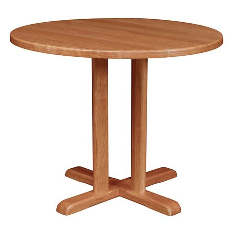 Small Bistro Table 36h Counter Height Bistro Table Solid Cherry Maple Oak Or Walnut Solid Wood Table