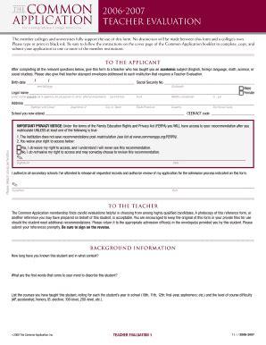 common application recommendation letter guidelines sle recommendation letter for proficiency from