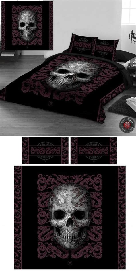 skull bed sets queen 14 best bedding images on pinterest airy bedroom