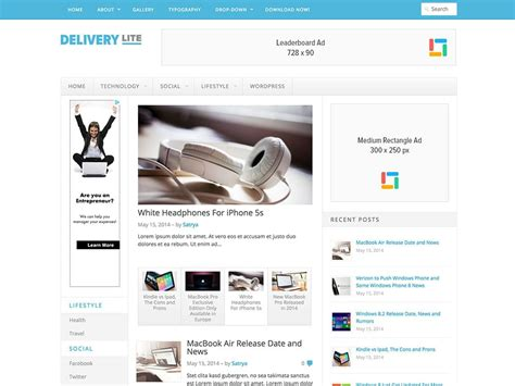 free responsive wordpress themes for awesome websites 2016