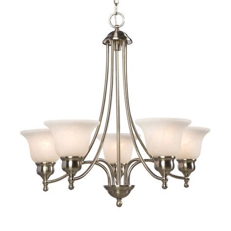 Galaxy Lighting 800805 5 Light Dover Chandelier Lowe S Lowes Chandelier Lighting