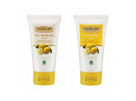 Toner Wajah Garnier usir jerawat dan cerahkan wajah menggunakan 7 rekomendasi produk dengan kandungan lemon berikut