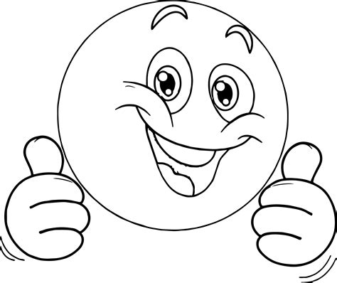 coloring page thumbs up thumbs up coloring page coloring pages