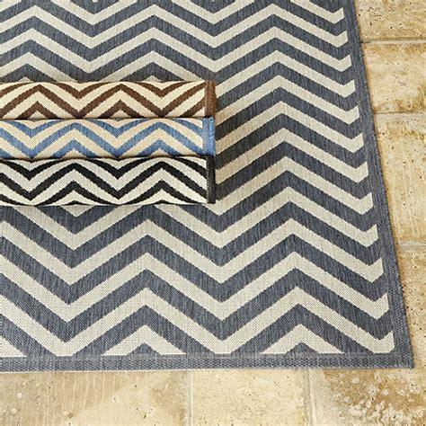 Ballard Outdoor Rugs Chevron My Sky Is The Limit