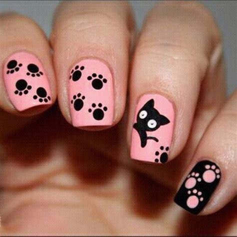 decoraciones de uñas gaticos u 241 as decoradas con gatos 20 dise 241 os con mucha ternura